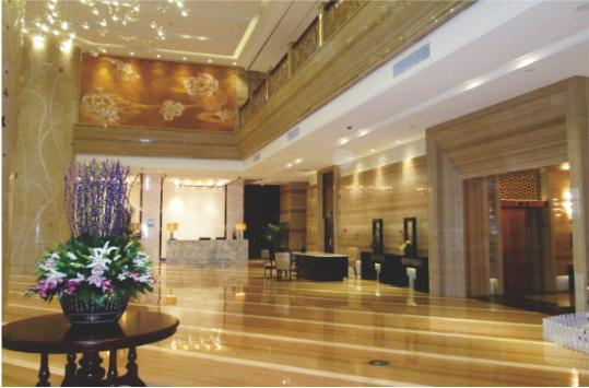 装饰类--宁波北仑石浦豪生大酒店内装五星级酒店