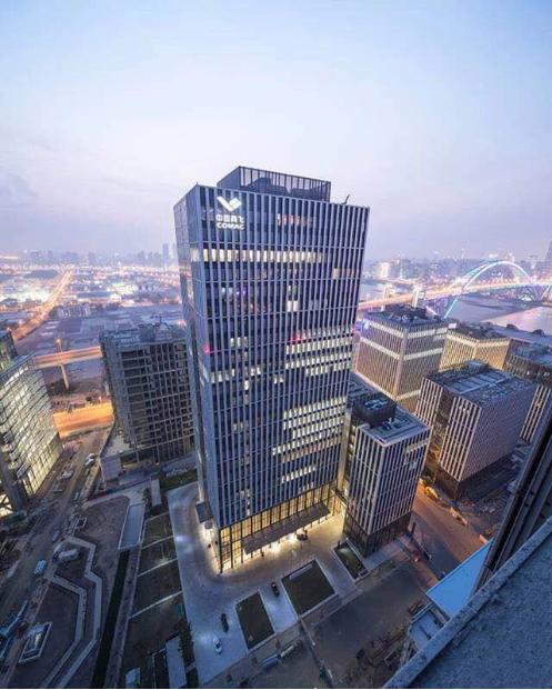 钢结构--中国商飞总部大厦