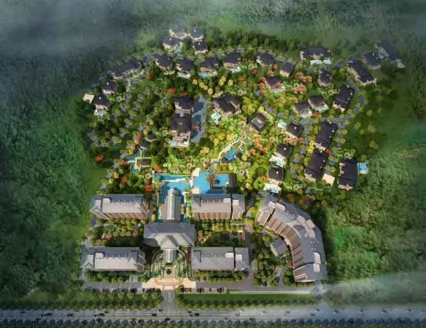 8500万丨三乐建设打造五星级度假村
